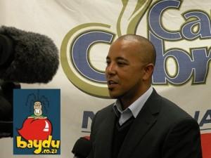 Paul Adams announced as Cape Cobras coach. Pic: baydu.co.za