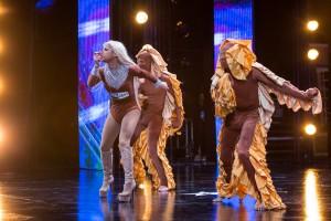 Cape Town's Manila Von Teez electrified the SA's Got Talent stage.