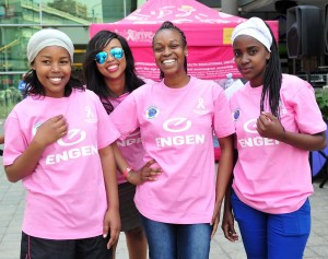 Gv general view during the 2016 Engen Pink Drive at SunnyPark Mall, Pretoria on 8 October 2016 © Samuel Shivambu/BackpagePix