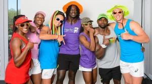 Veroeshka Grain, Nomsa Mokwai, Marithy Pienaar, Tim Agaba, Phumeza Gadu, Sandile Ngcobo and Ruhan Nel. Gallo Images.