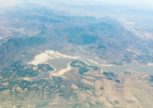 I took this pic flying from CT to PE on Sunday morning. This looks like the Steenbras Dam just other side of Sir Lowry's Pass, leaving Somerset West area.